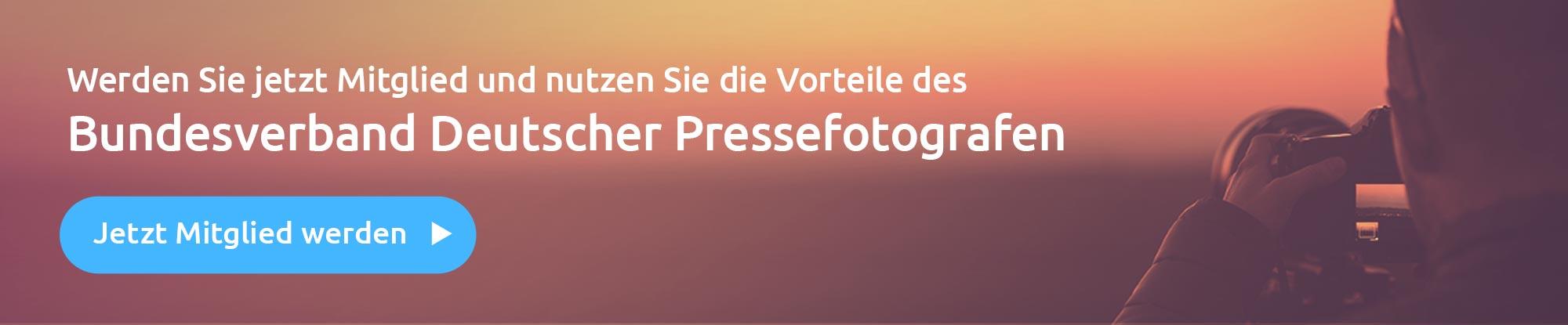 Jetzt Mitglied werden beim Bundesverband Deutscher Pressefotografen